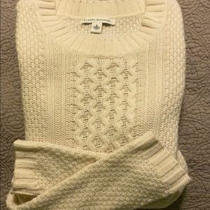 BANANA REPUBLIC Sweater • Cream • Small